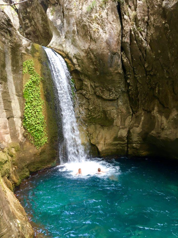 Sapadere vandfaldet, vandfald i Alanya, Alanya vandfald, Sapadere, udflugter i Alanya,